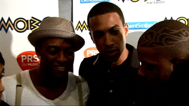 2009 mobo awards nominations announced jls interview sot on life being crazy on their two mobo nominations on going to glasgow for the ceremony they... - boy band stock videos & royalty-free footage