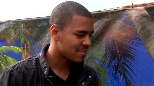2010 Wireless Festival interviews J Cole interview SOT on knowing JayZ good openers his likes and dislikes whether he thinks Jay and Beyonce will be...