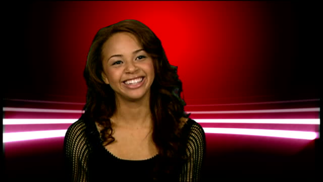 Alexis Jordan interview ENGLAND London INT Alexis Jordan interview SOT on America's Got Talent went on the show when she was 14/ uploading YouTube...