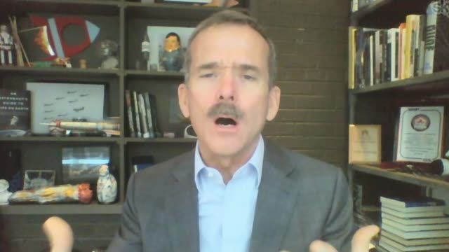 astronaut chris hadfield to release album recorded in space canada int commander chris hadfield interview via the internet sot talks of how he felt... - album release stock videos and b-roll footage