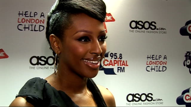 capital fm summertime ball 2010: interviews; alexandra burke interview sot on her new album on her tour in australia on summer plans, festivals on... - the x factor stock videos & royalty-free footage