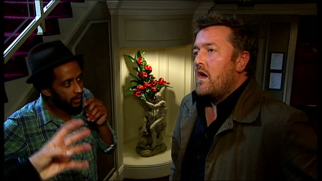 elbow interview guy garvey and pete turner interview continued sot - elbow stock videos & royalty-free footage