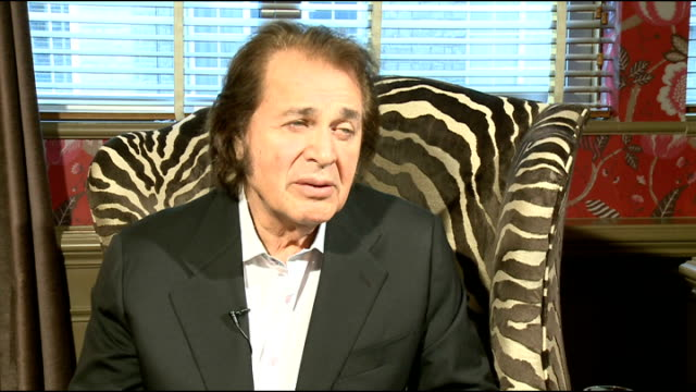 engelbert humperdinck interview england int engelbert humperdinck interview sot discusses forthcoming performance at the eurovision song contest... - singing contest stock videos and b-roll footage