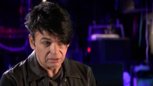 gary numan discusses how aspergers syndrome has helped him focus on his work gary numan interview continued sot and cutaways - gary numan stock videos & royalty-free footage