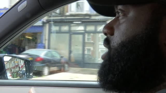 culture minister backs campaign to end met police 'discriminatory' form 696 london money interview as driving car sot/ - form stock videos and b-roll footage