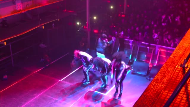 culture minister backs campaign to end met police 'discriminatory' form 696 nadia rose performing on stage sot - form stock videos and b-roll footage