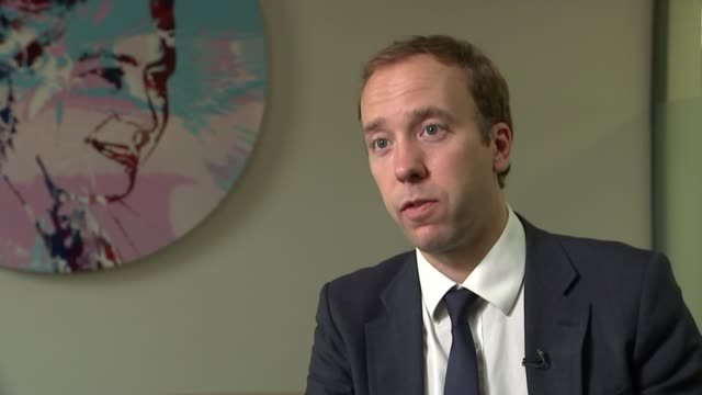 culture minister backs campaign to end met police 'discriminatory' form 696 westminster int matt hancock mp interview sot [re met police form 696]... - form stock videos and b-roll footage
