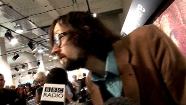 Jarvis Cocker at HMV Jarvis Cocker talking to press SOT on his sales technique and what advice he's been giving to customers on the demise of punk...