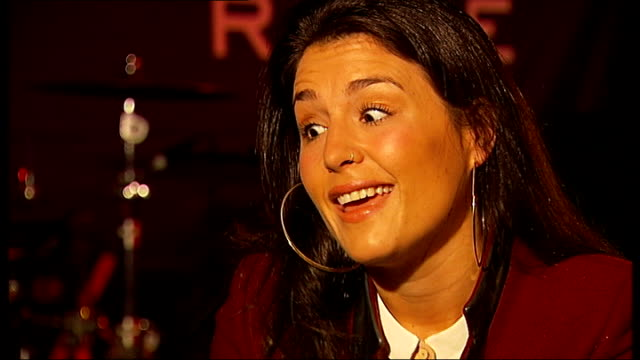 jessie ware is nominated for mercury prize; england: london: int jessie ware interview sot - discusses 2012 mercury music prize nomination - mercury music prize stock-videos und b-roll-filmmaterial