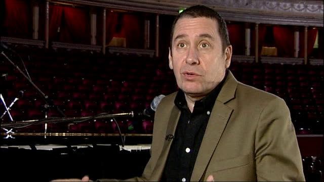 jools holland interview; jools holland interview sot - on the musicians playing on his new album including chas n' dave and booker t / on london... - jools holland stock-videos und b-roll-filmmaterial