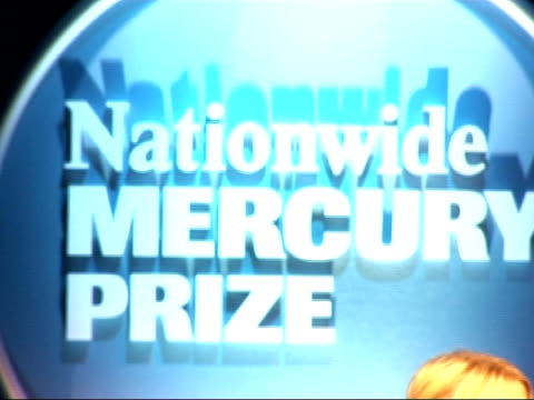 nationwide mercury music prize 2008: nominations; lauren laverne introduces llive performance from the portico quartet sot - mercury music prize stock-videos und b-roll-filmmaterial