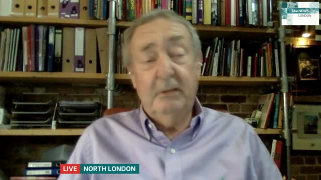 nick mason interview on new album of pink floyd music; england: london: gir: int nick mason 2 way interview from north london sot - re new album... - itv london tonight stock-videos und b-roll-filmmaterial