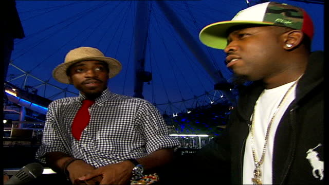 Outkast interview OutKast members Andre 3000 and Big Boi as Big Boi comments SOT big up London
