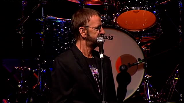 ringo starr announces european tour various of ringo starr press conference sot answers questions about forthcoming tour - ringo starr stock videos and b-roll footage