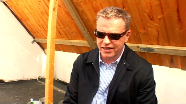 suggs interview; england: london: ext suggs interview sot - on madness still going after 30 years - still making music, still having fun - on... - suggs musician stock videos & royalty-free footage
