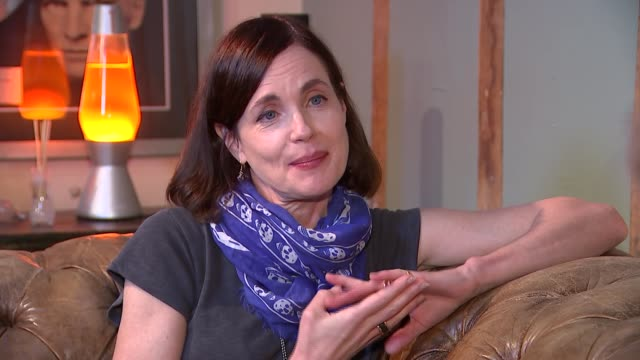 Actress Elizabeth McGovern takes on new music career Elizabeth McGovern interview SOT re end of TV drama series 'Downton Abbey' and her musical...