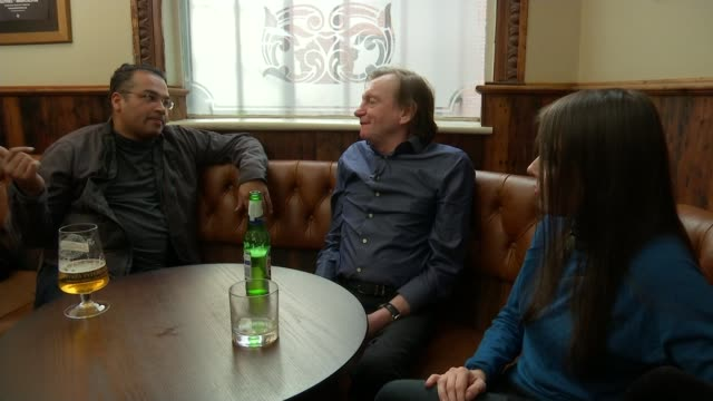 The Fall founder Mark E Smith dies TX Manchester INT Mark E Smith interview SOT