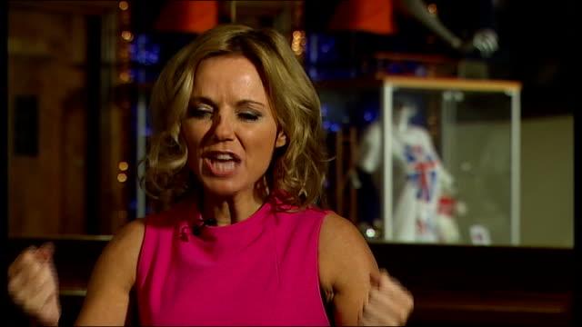 Spice Girls 'Viva Forever' rehearsals Geri Halliwell interview SOT
