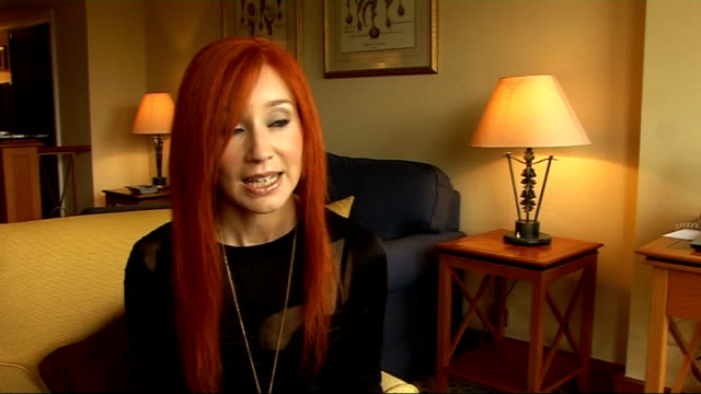 tori amos interview england int tori amos interview sot on having to pull out of a recent show in london due to illness on the new album 'abnormally... - religious music stock videos and b-roll footage