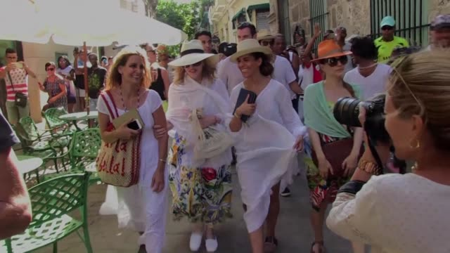 pop singer madonna celebrated her 58th birthday tuesday strolling and dancing in cuba the latest us star to visit the communist island since it... - madonna singer stock videos and b-roll footage