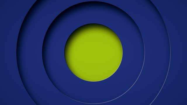 vídeos de stock e filmes b-roll de pop up circle animation background - artigo de decoração