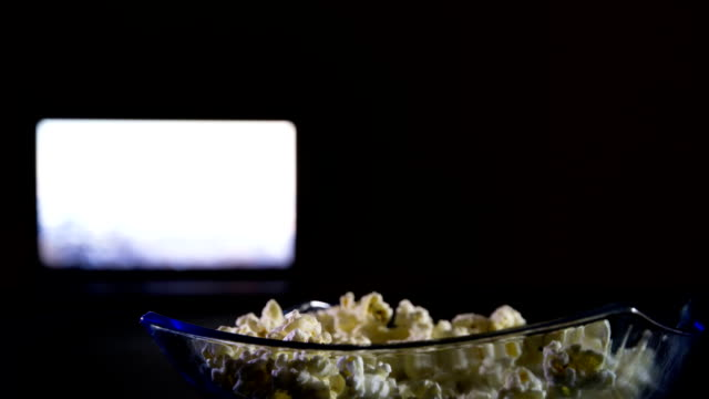 popcorn eat - popcorn stock videos & royalty-free footage