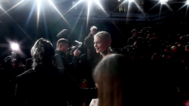 Poppy Delevingne walks the red carpet at The Fashion Awards 2017 at Royal Albert Hall on December 4 2017 in London England