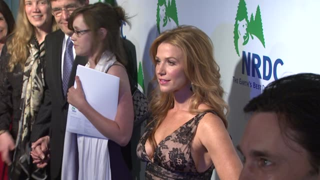 poppy montgomery at the national resources defense council's 20th anniversary celebration at beverly hills ca - national resources defense council stock videos & royalty-free footage