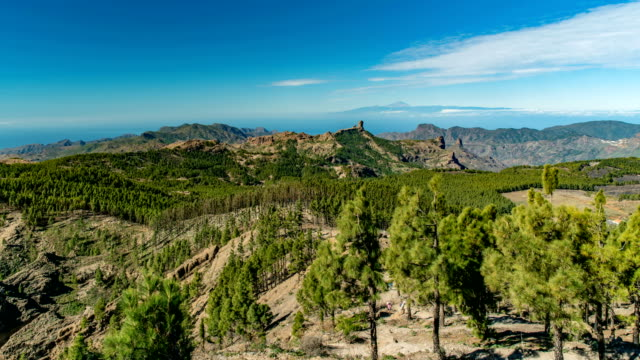 popular landmark in the canary islands - grand canary stock videos & royalty-free footage