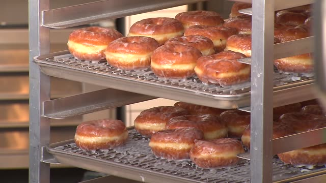 A popular Los Angeles Donut Shop Stan's Donuts opened a new store in Chicago on February 11 2014 in Chicago Illinois