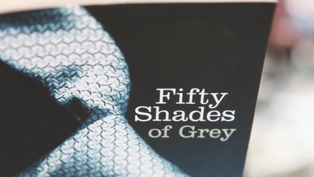 popular novel 'fifty shades of grey' has sold around 20 million copies worldwide making it the fastestselling paperback of all time at 50 shades of... - paperback stock videos & royalty-free footage