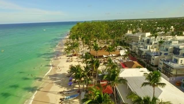 popular tourist destination - dominican republic stock videos & royalty-free footage