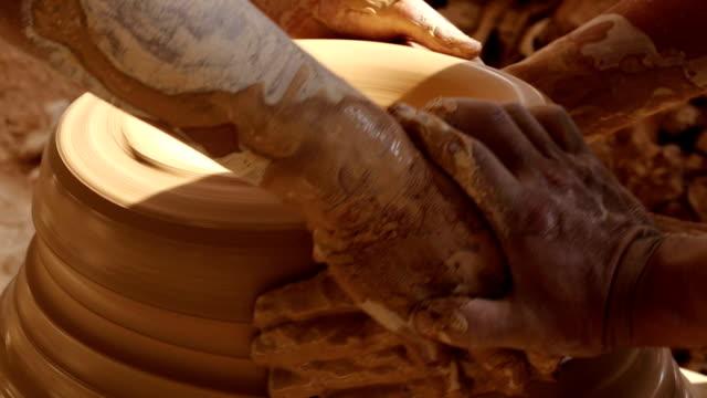 porcelain production process - porcelain stock videos & royalty-free footage