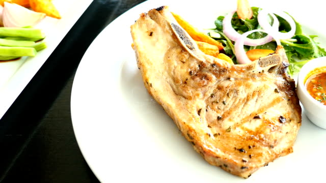 Pork chop biefstuk