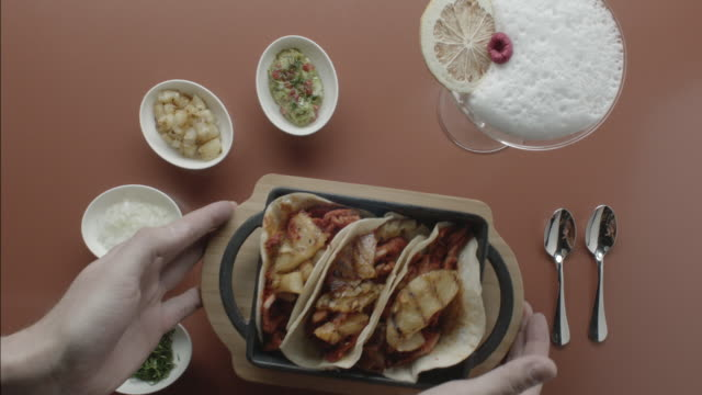 pork tacos - pastor stock videos & royalty-free footage
