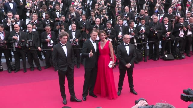 Porn Superstar Rocco Siffredi and Rosza Tassi on the red carpet for the Premiere of Money Monster at the Cannes Film Festival 2016 Thursday 12th May...