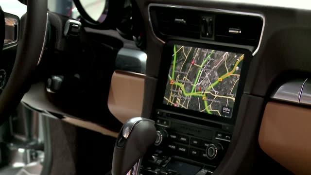 porsche 911 carrera s - vehicle interior - vehicle interior stock videos & royalty-free footage