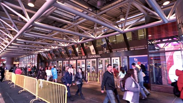 Port authority bus terminal of new york