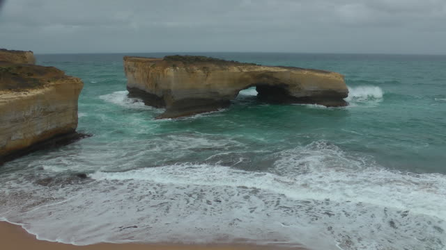 port campbell national park - port campbell national park stock videos & royalty-free footage