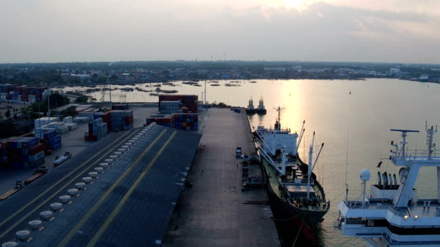 port cargo - loading stock videos & royalty-free footage