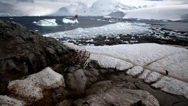 landscape of Palmer Archipelago in Antarctica