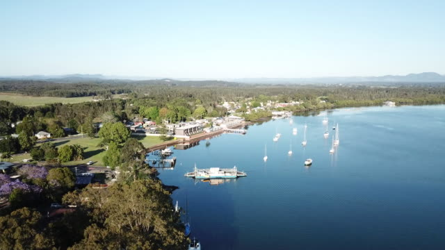port macquarie - river stock videos & royalty-free footage