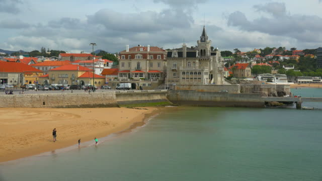 port of cascais, la costa do estoril region, portugal - cascais stock videos and b-roll footage