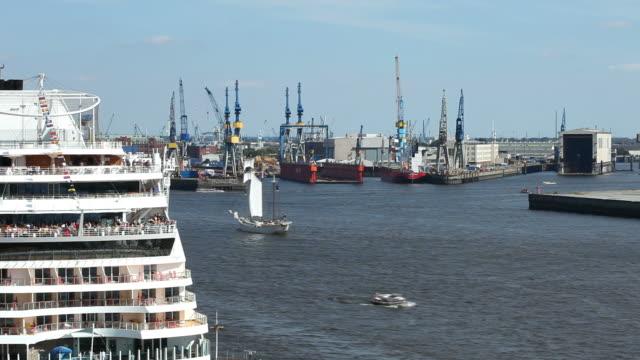 Port of Hamburg - Time Lapse