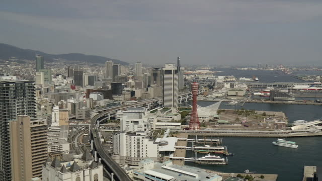 Port Of Kobe Hyogo Japan