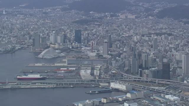 AERIAL, Port Of Kobe, Hyogo, Japan