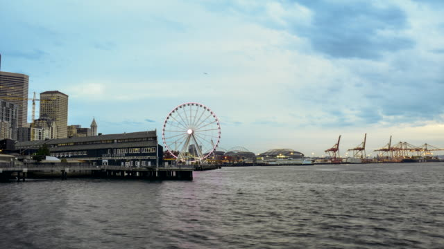 Hafen von Seattle in Seattle timelapse