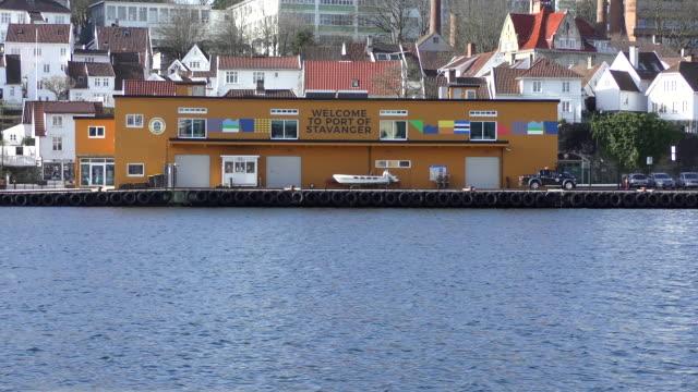 port of stavanger - stavanger stock videos & royalty-free footage