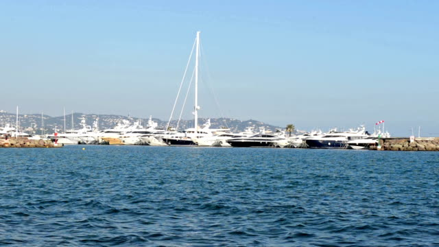 Port of yacht