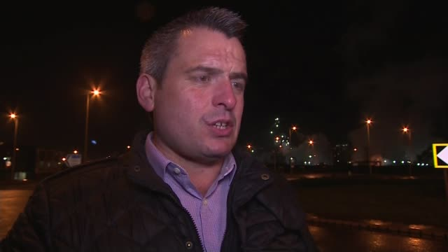 Port Talbot considers its future as steelmaking firm Tata announces closure NIGHT Barrie Evans interview SOT